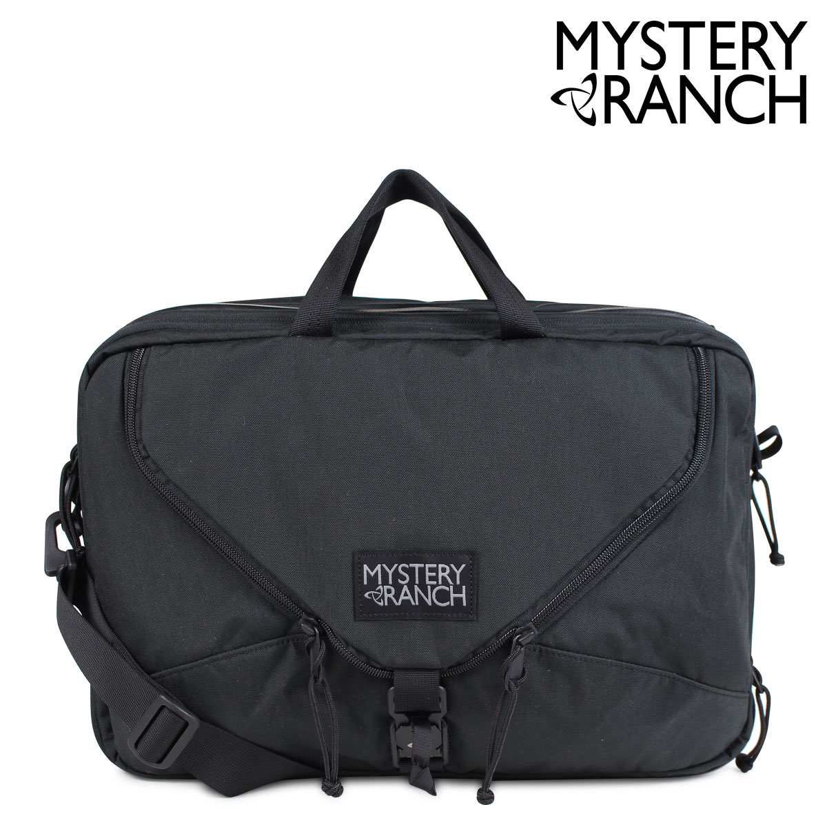 MYSTERY RANCH 3-WAY ミステリーランチ リュック ショルダー 3WAY ブリーフケース スリーウェイ 22L メンズ レディース ブラック 19761184