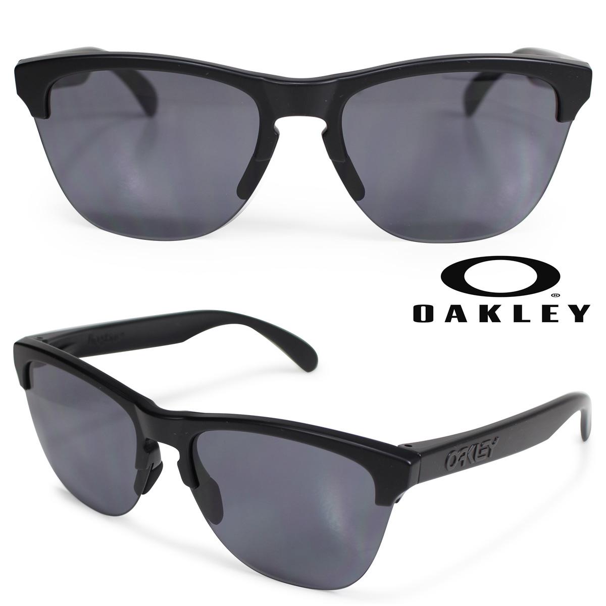Oakley Frogskins lite オークリー サングラス フロッグスキン ライト US FIT メンズ レディース ブラック OO9374-01