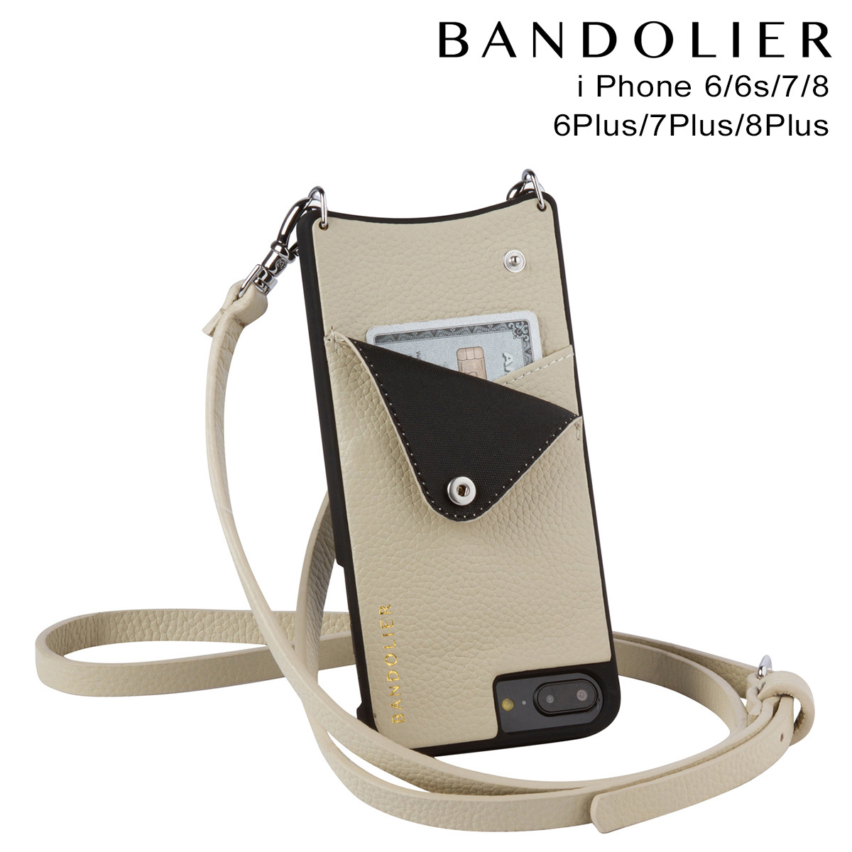 BANDOLIER EMMA IVORY バンドリヤー iPhone8 iPhone7 7Plus 6s ケース スマホ アイフォン プラス メンズ レディース [7/26 新入荷]