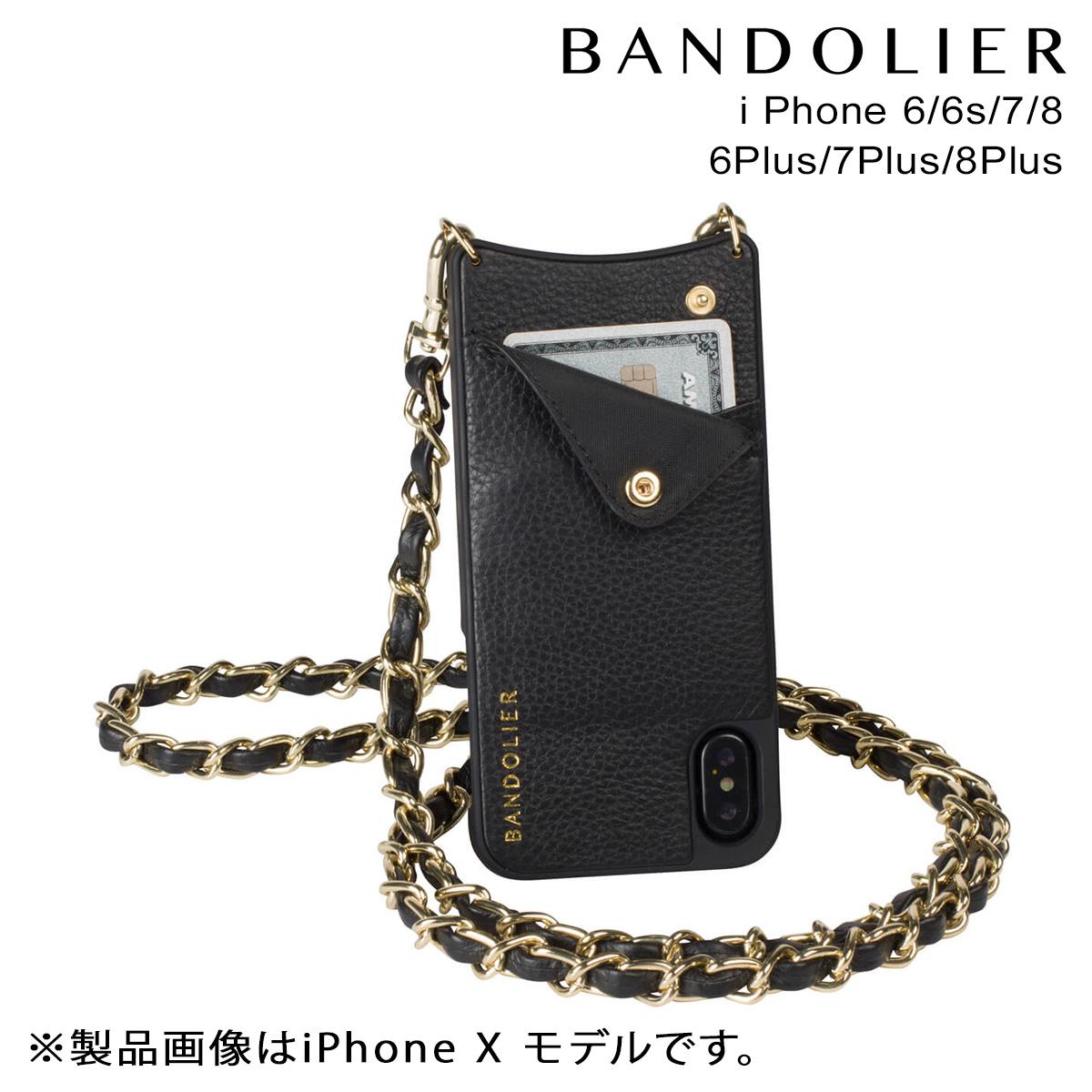 BANDOLIER iPhone8 iPhone7 7Plus 6s LUCY GOLD バンドリヤー ケース スマホ アイフォン プラス メンズ レディース