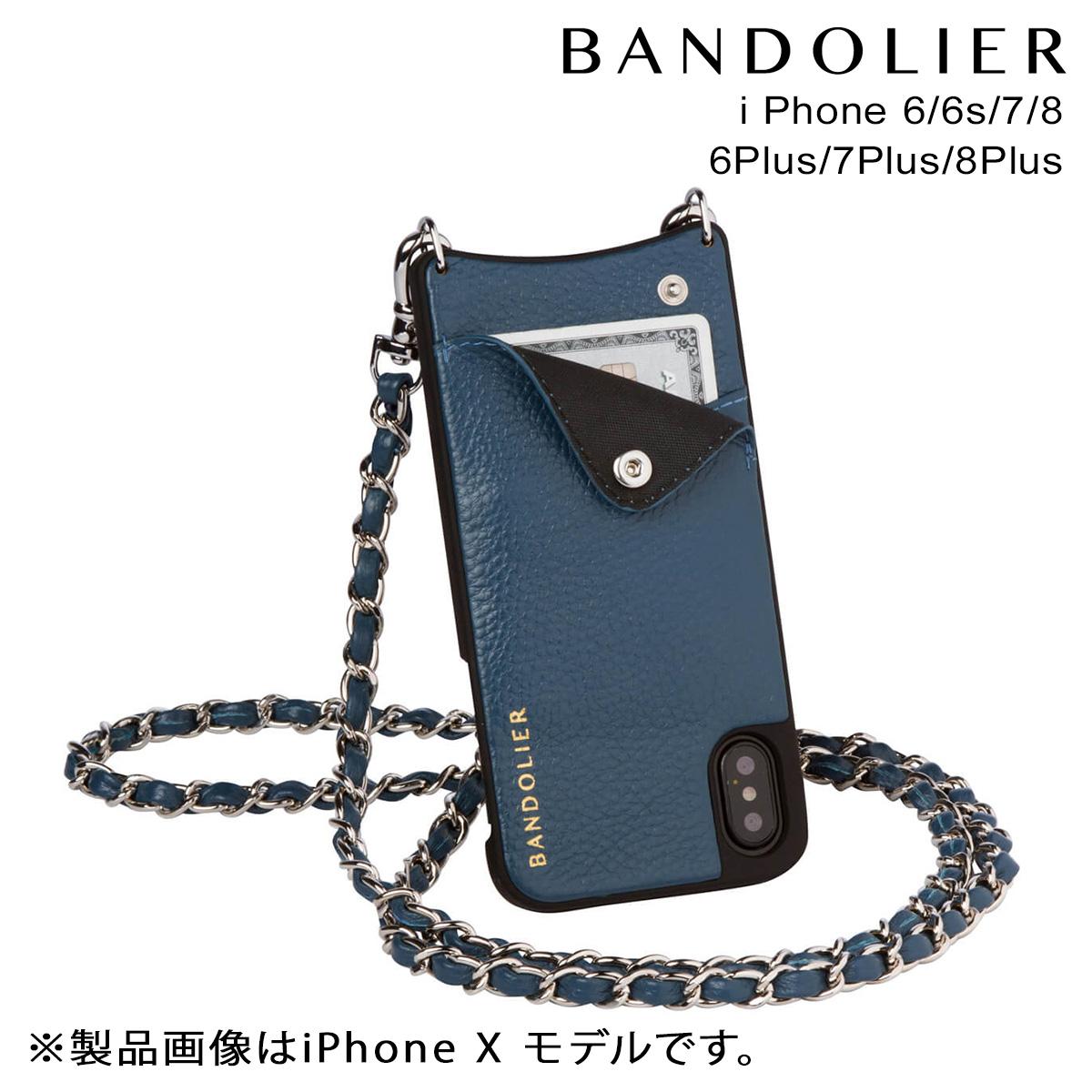 BANDOLIER iPhone8 iPhone7 7Plus 6s LUCY SAPPHIRE バンドリヤー ケース スマホ アイフォン プラス メンズ レディース