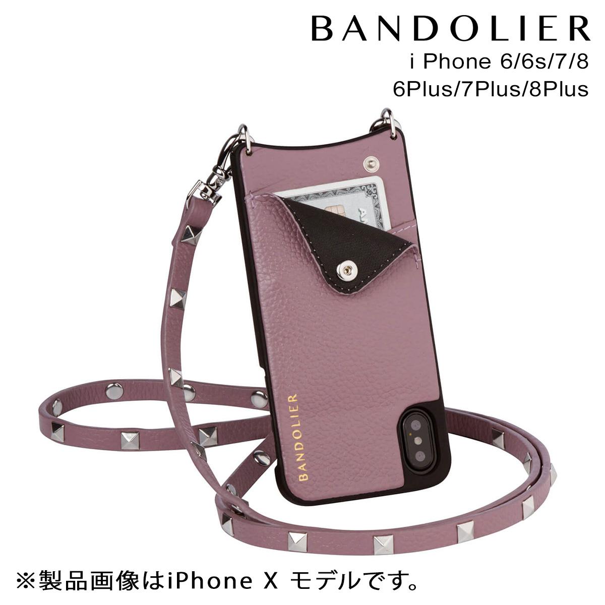 BANDOLIER iPhone8 iPhone7 7Plus 6s SARAH IRIS バンドリヤー ケース スマホ アイフォン プラス メンズ レディース
