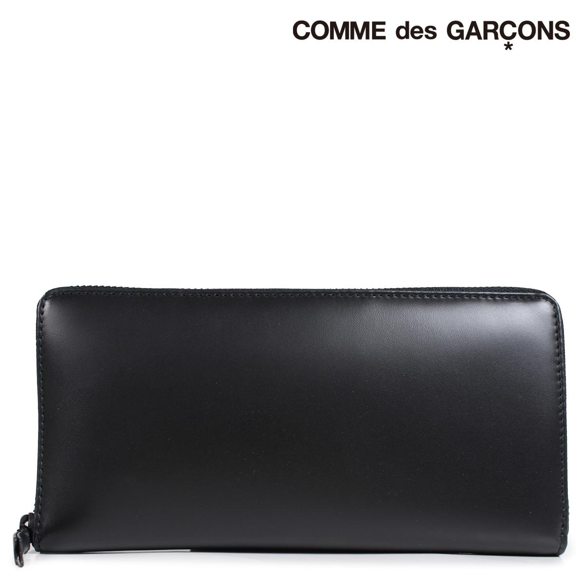 COMME des GARCONS SA0110VB コムデギャルソン 財布 長財布 メンズ レディース ラウンドファスナー ブラック 黒