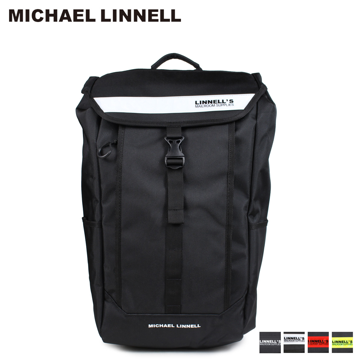 MICHAEL LINNELL BOX BACKPACK マイケルリンネル リュック バッグ 28L メンズ レディース バックパック ML-025 [予約商品 4/4頃入荷予定 追加入荷]