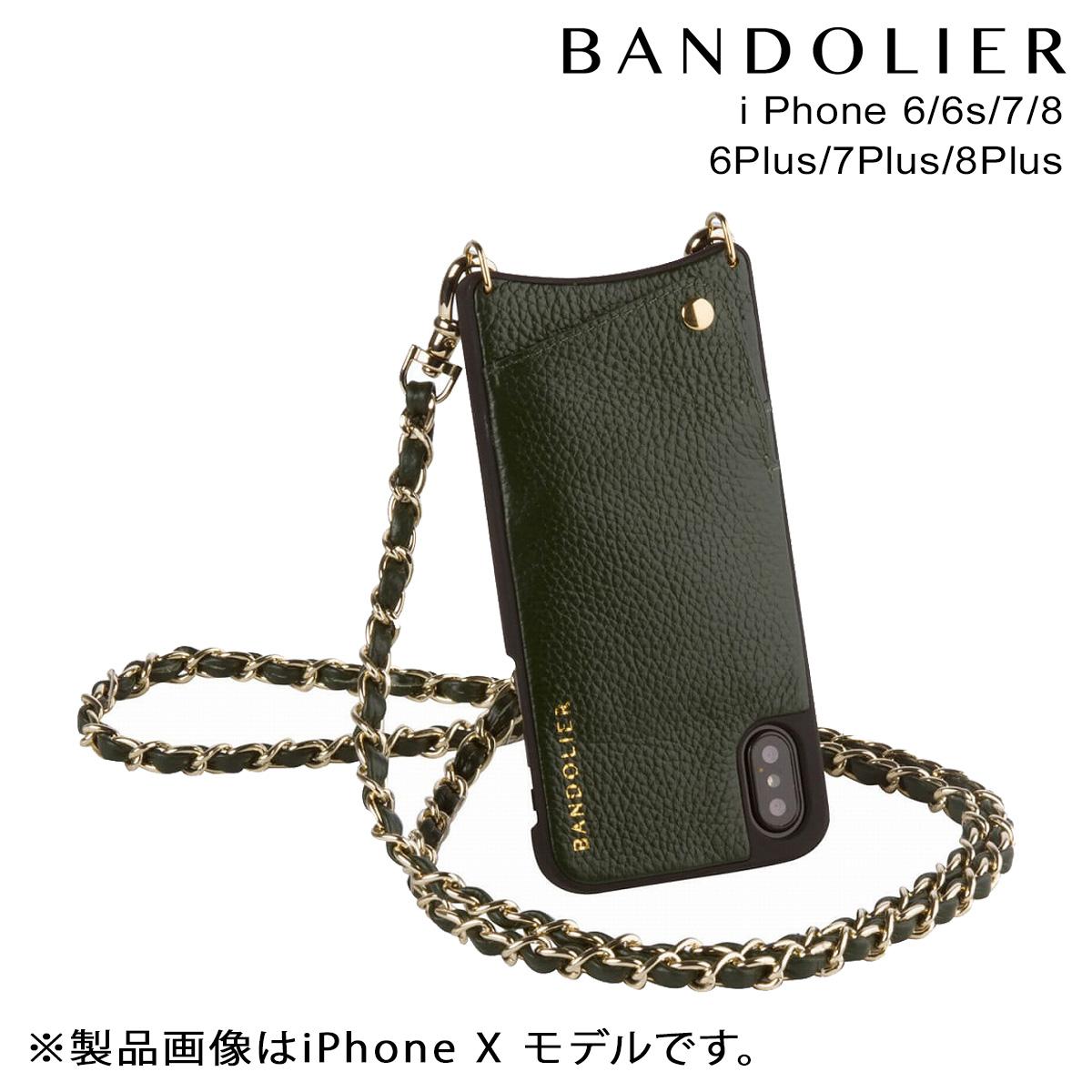 BANDOLIER バンドリヤー iPhone8 iPhone7 7Plus 6s ケース スマホ アイフォン プラス LUCY EVERGREEN メンズ レディース