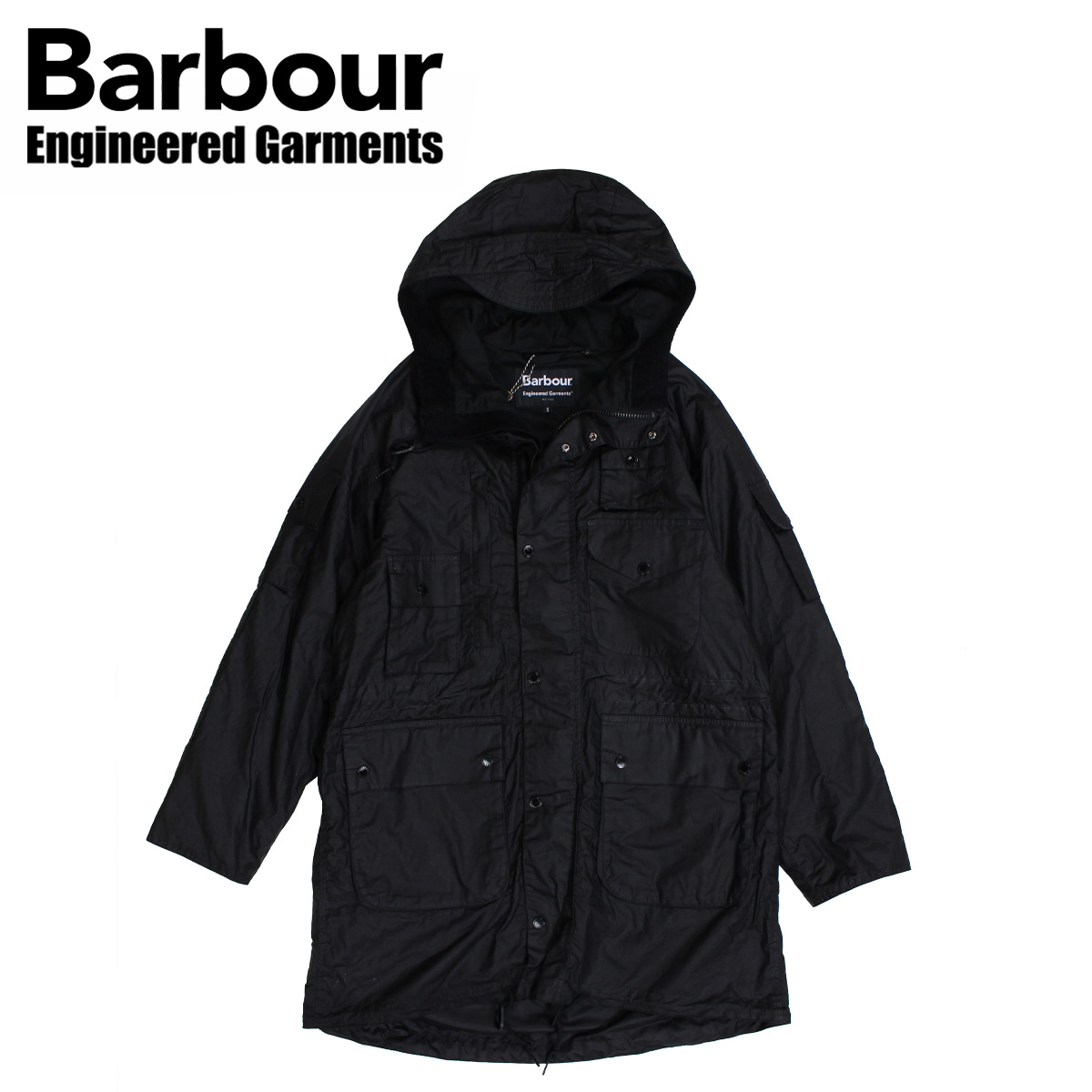 Barbour ZIP PARKA バブアー ジャケット ワックス メンズ ジップ パーカー ブラック MWX1439
