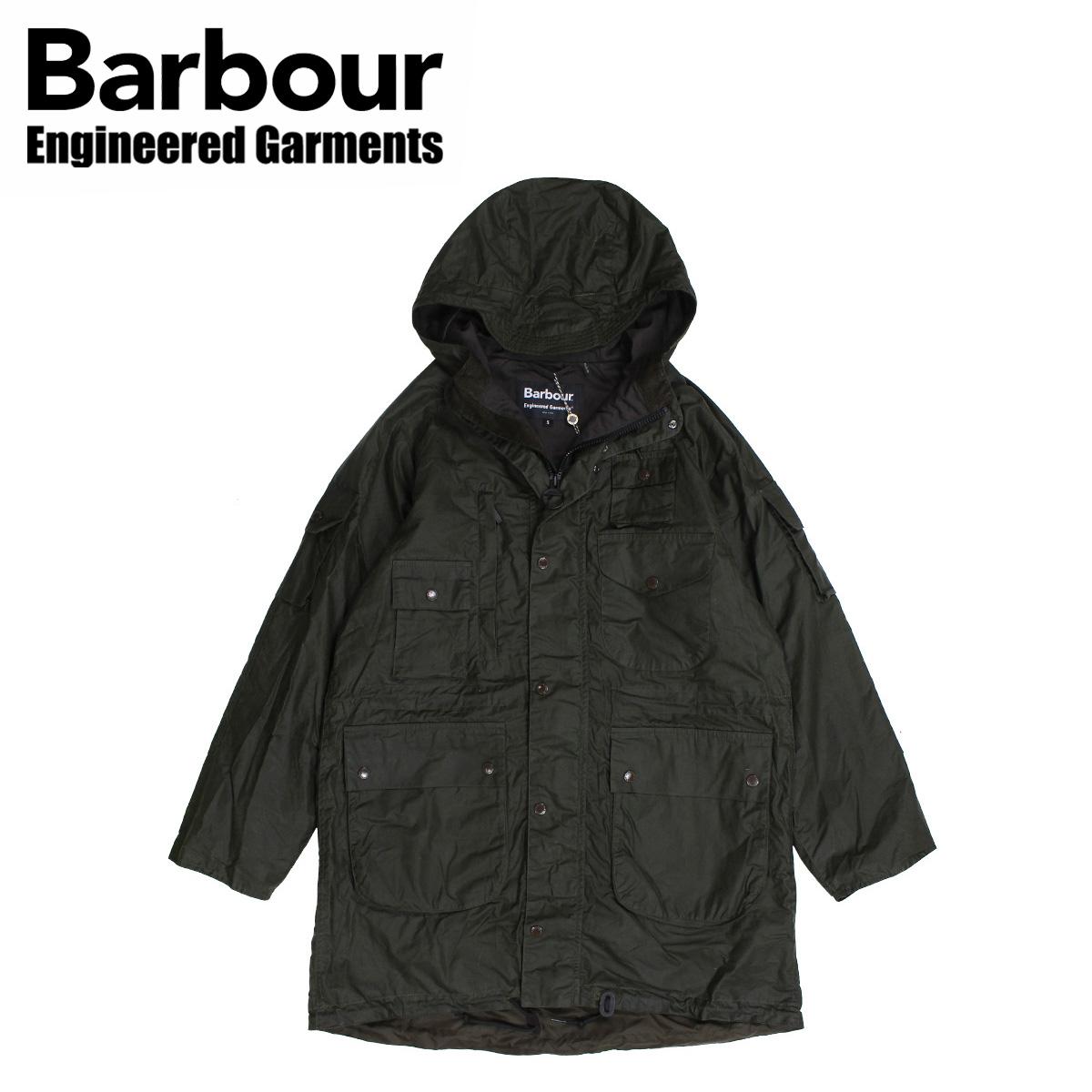 Barbour ZIP PARKA バブアー ジャケット ワックス メンズ ジップ パーカー オリーブ MWX1439