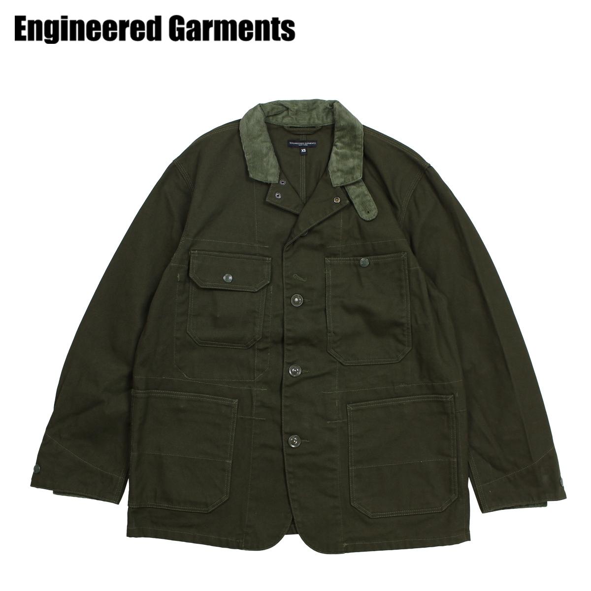 ENGINEERED GARMENTS LOGGER JACKET エンジニアドガーメンツ ジャケット メンズ ロング オリーブ F8D1071