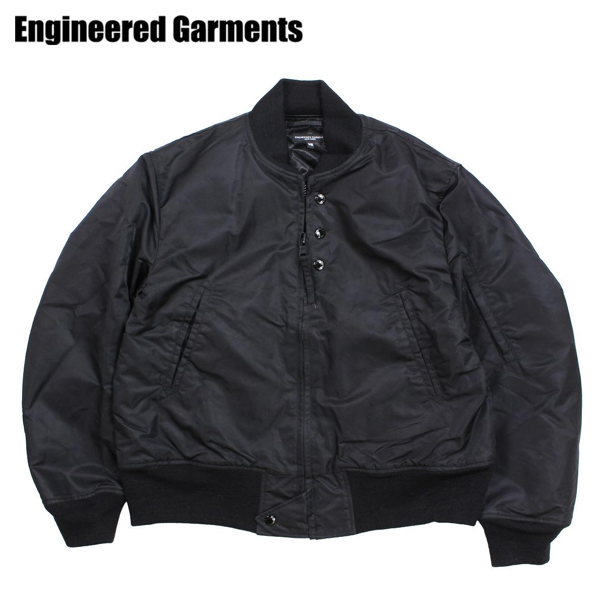 ENGINEERED GARMENTS AVIATOR JACKET エンジニアドガーメンツ ジャケット メンズ MA1 フライトジャケット ブラック F8D1191