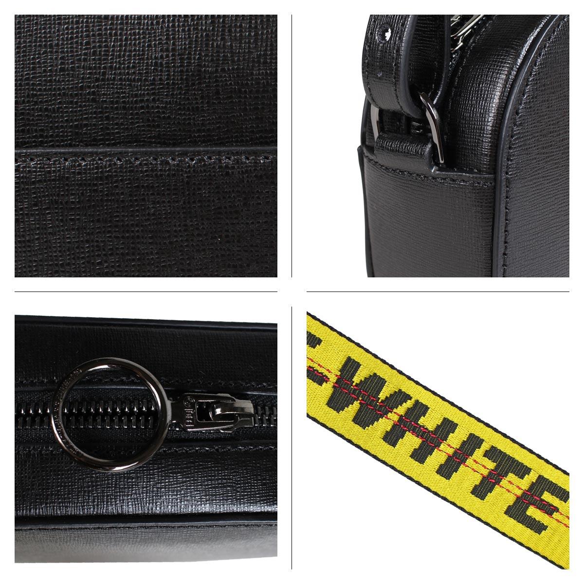 Off-white SCULPTURE CAMERA STRAP BAG オフホワイト バッグ ショルダーバッグ レディース ブラック OWNA054 423051