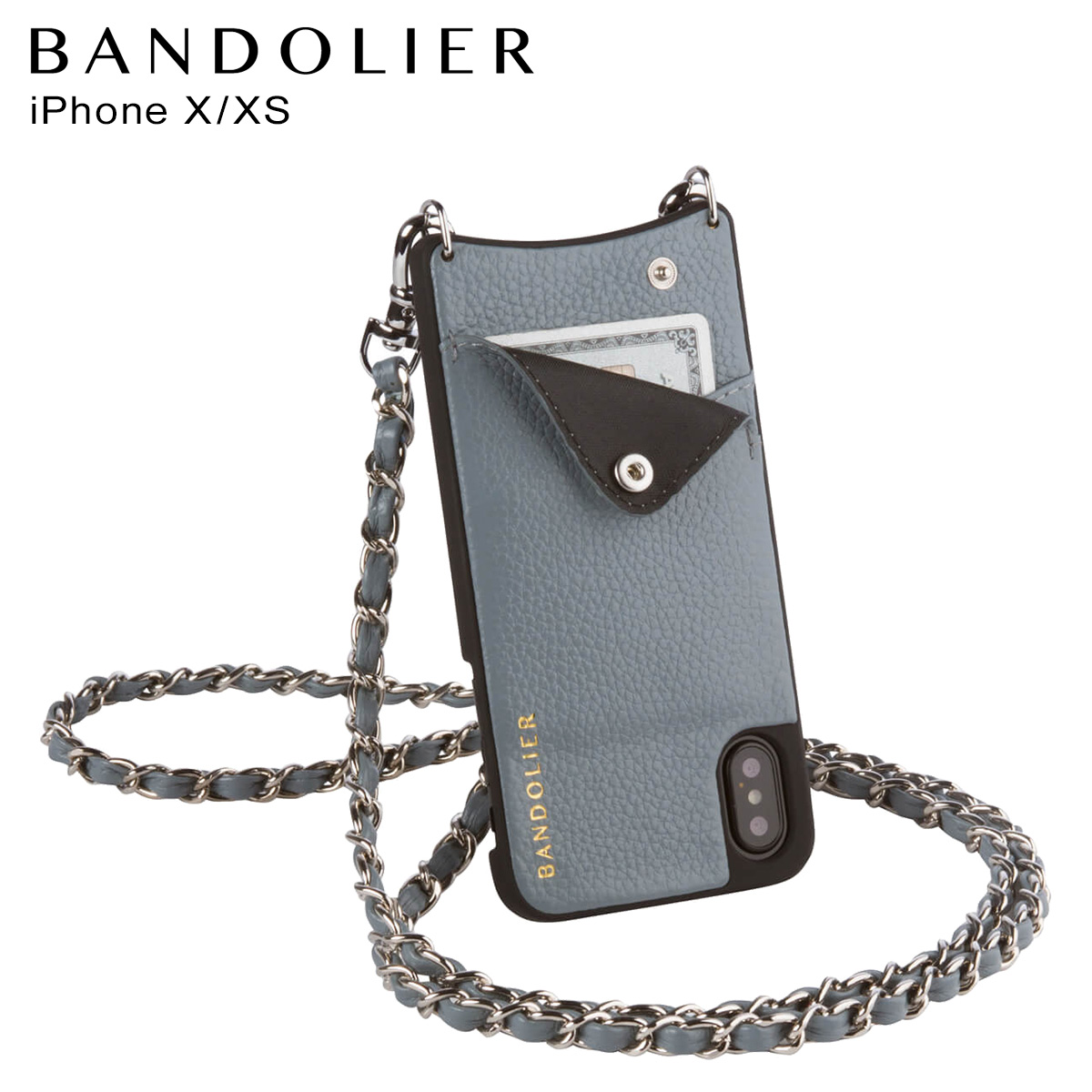 BANDOLIER iPhoneXS X LUCY STORM バンドリヤー ケース スマホ アイフォン メンズ レディース [3/18 再入荷]
