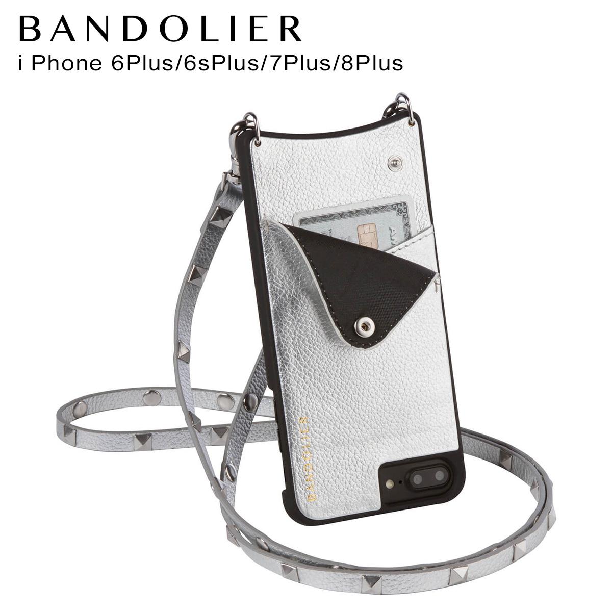 BANDOLIER iPhone8Plus iPhone7Plus 6sPlus EMMA BLUSH バンドリヤー ケース スマホ アイフォン プラス メンズ レディース