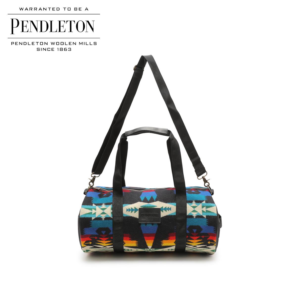 PENDLETON ROUND GYM BAG ペンドルトン バッグ ボストンバッグ メンズ レディース ブラック GA261