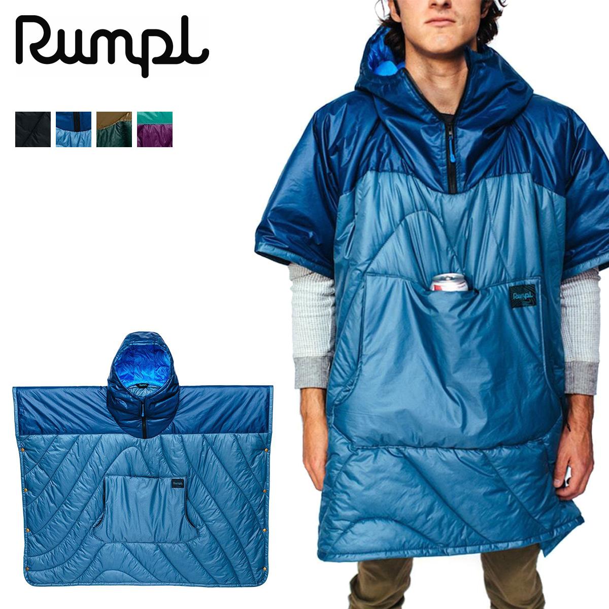 Rumpl PUFFY PONCHO ランプル ポンチョ コート マント メンズ レディース