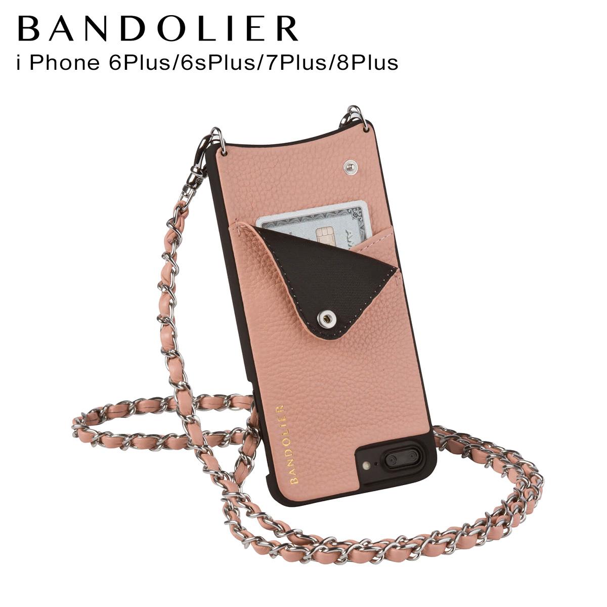 BANDOLIER iPhone8Plus iPhone7Plus 6sPlus LUCY BLUSH バンドリヤー ケース スマホ アイフォン プラス メンズ レディース