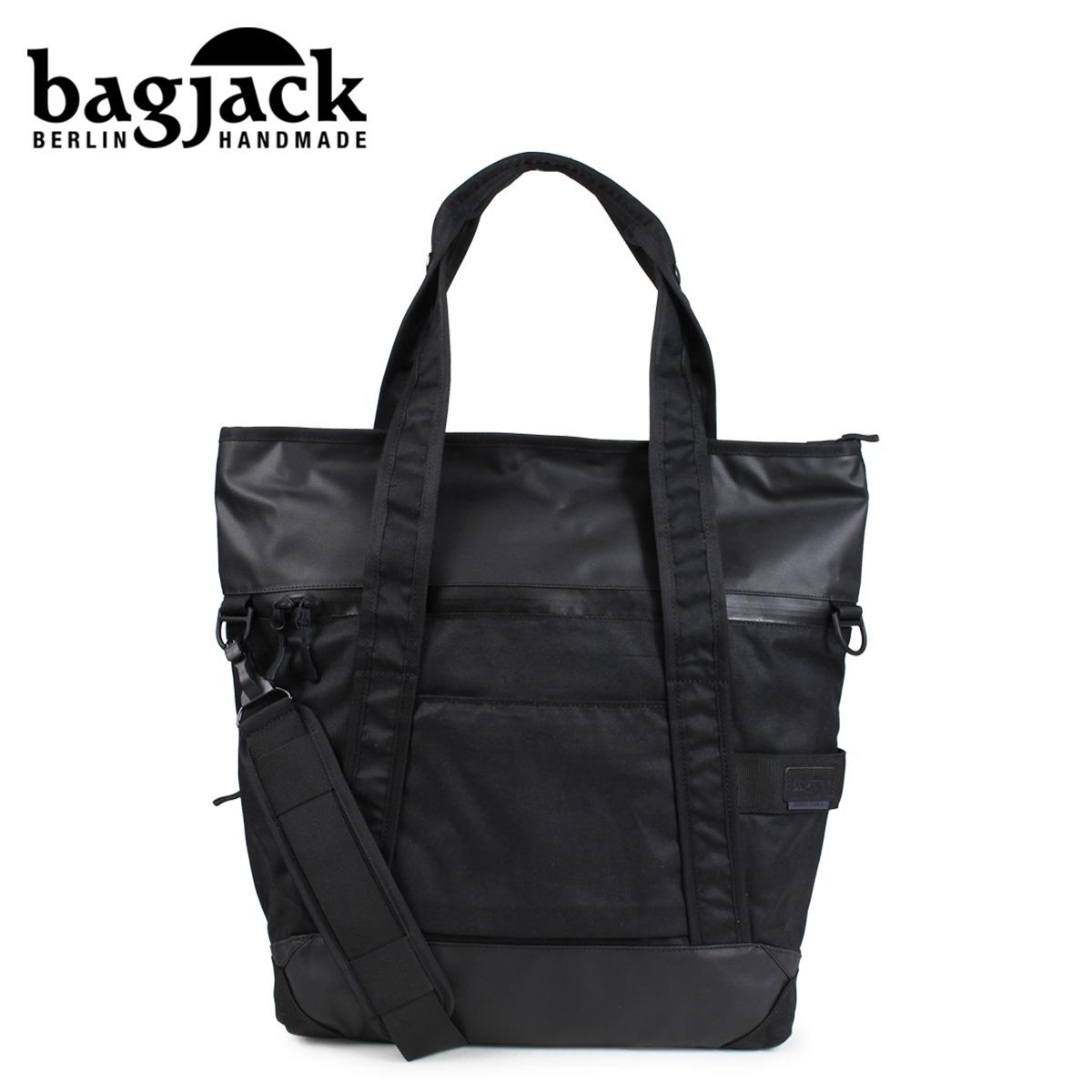 bagjack 3WAY NEXT LEVEL NATURE TEC TOTE バッグジャック トートバッグ メンズ レディース 24L ブラック