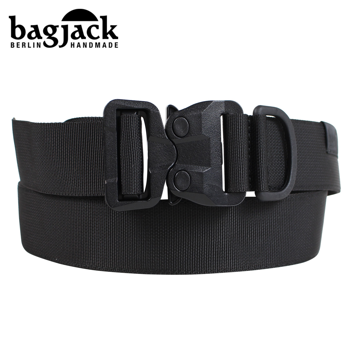 bagjack バッグジャック ベルト コブラ バックル メンズ COBLA BELT NEXT LEVEL NXL GT BLACK ブラック 黒