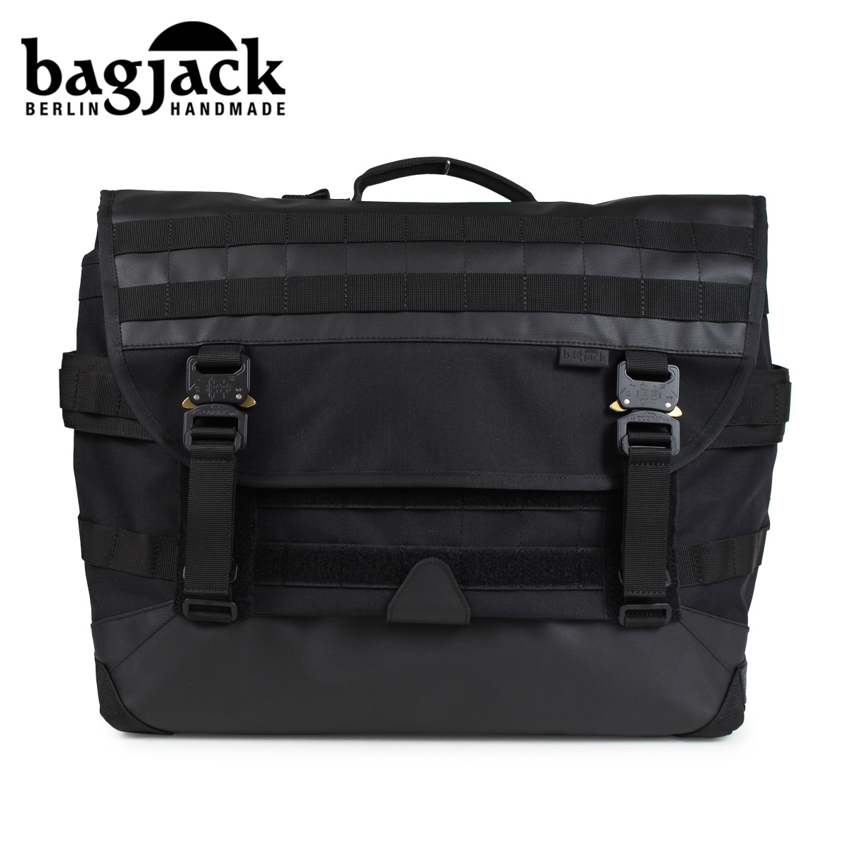 bagjack NEXT LEVEL MESSENGER M TECH LINE バッグジャック メッセンジャーバッグ ショルダーバッグ メンズ レディース ブラック