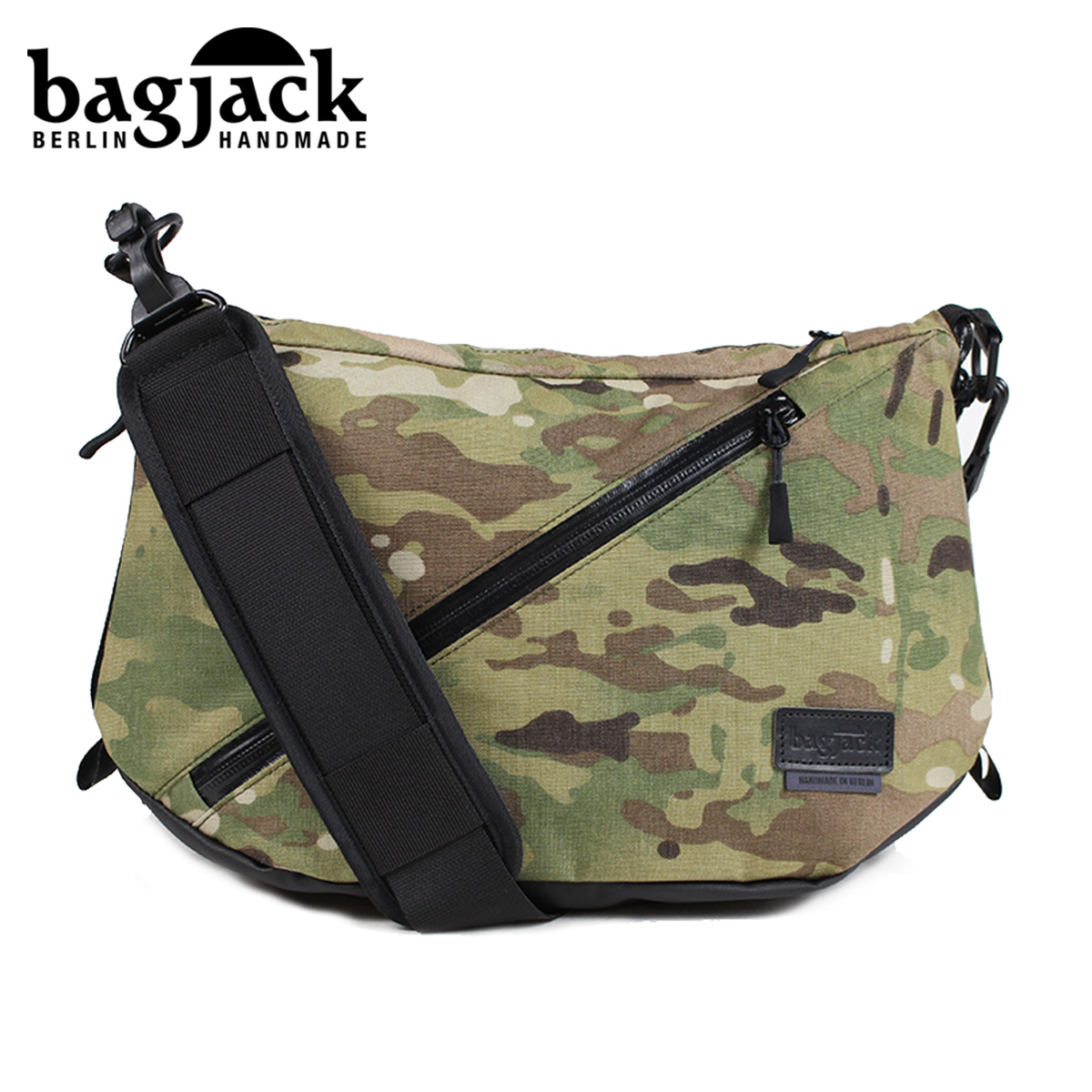 bagjack NEXT LEVEL TECH-LINE TCL SNIPER BAG バッグジャック メッセンジャーバッグ ショルダーバッグ メンズ レディース マルチカモ