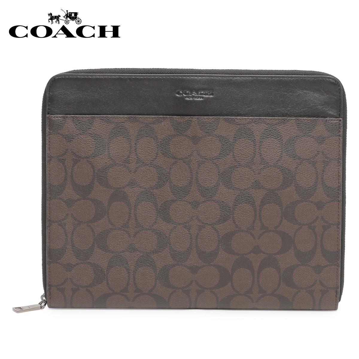 COACH F32654 コーチ タブレットケース iPadケース レディース シグネチャー ブラウン