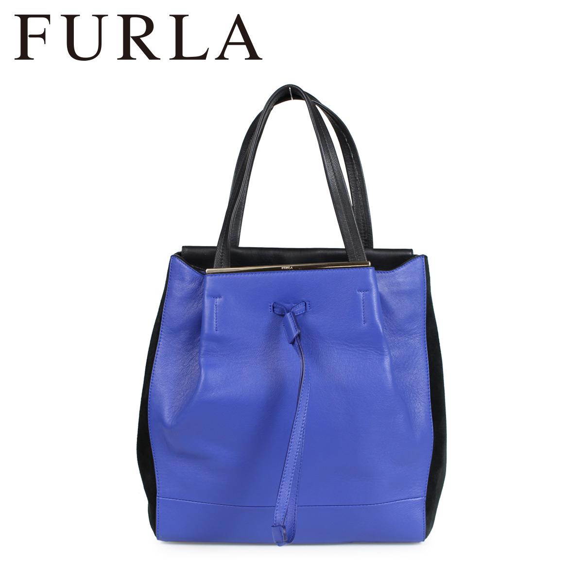 FURLA TWIST TOTE BAG フルラ バッグ トートバッグ レディース ブルー 768557