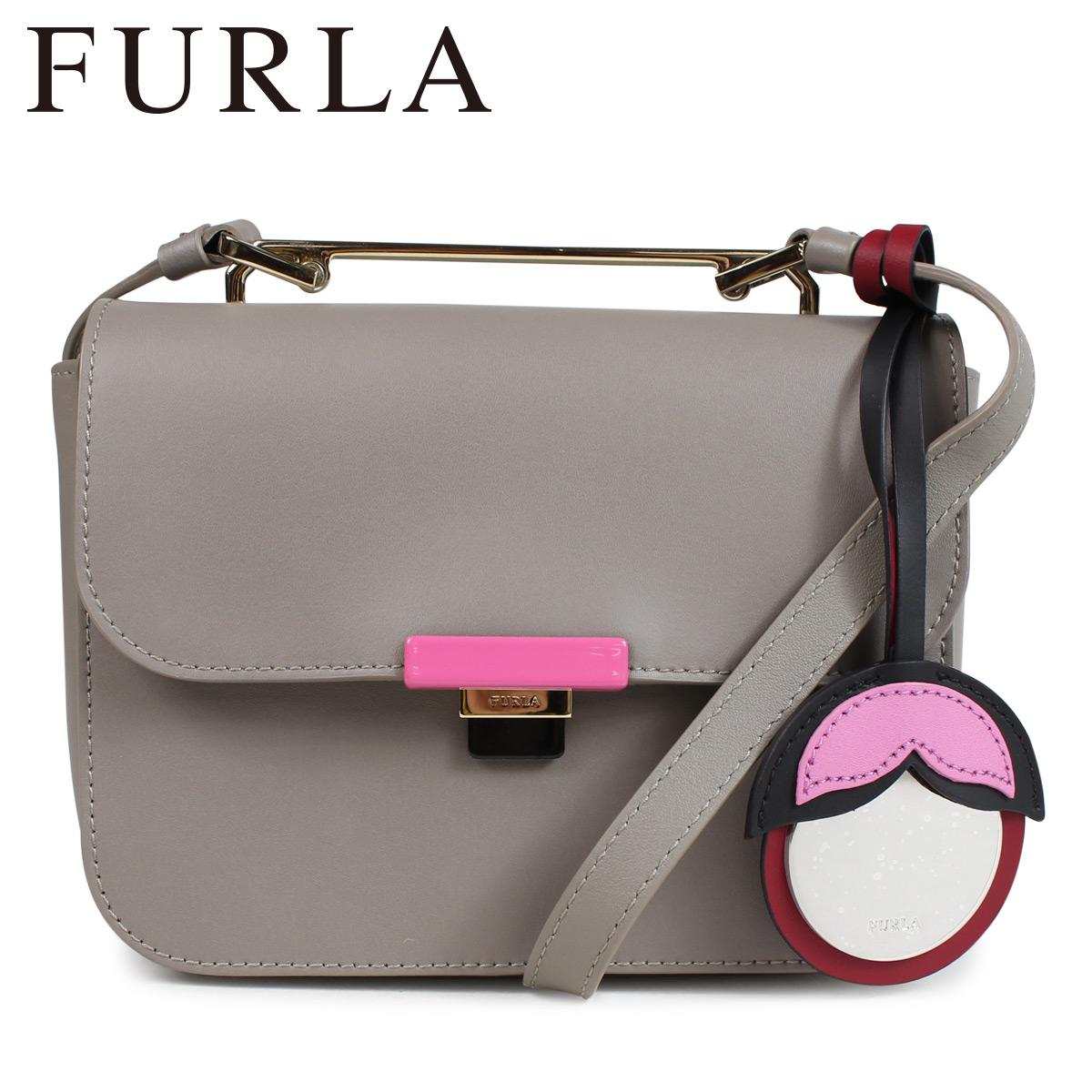 FURLA ELISIR MINI CROSS BODY BAG フルラ バッグ ショルダーバッグ レディース ライトグレー 920941