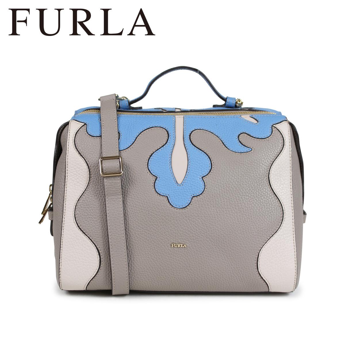 FURLA EXCELSA TOP HANDLE BAG フルラ バッグ ハンドバッグ ショルダー レディース ライトグレー 961824