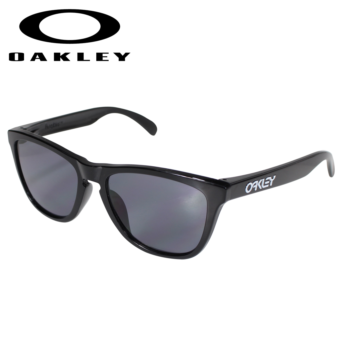 Oakley Frogskins オークリー サングラス フロッグスキン アジアンフィット メンズ レディース ASIAN FIT ブラック OO9245-01