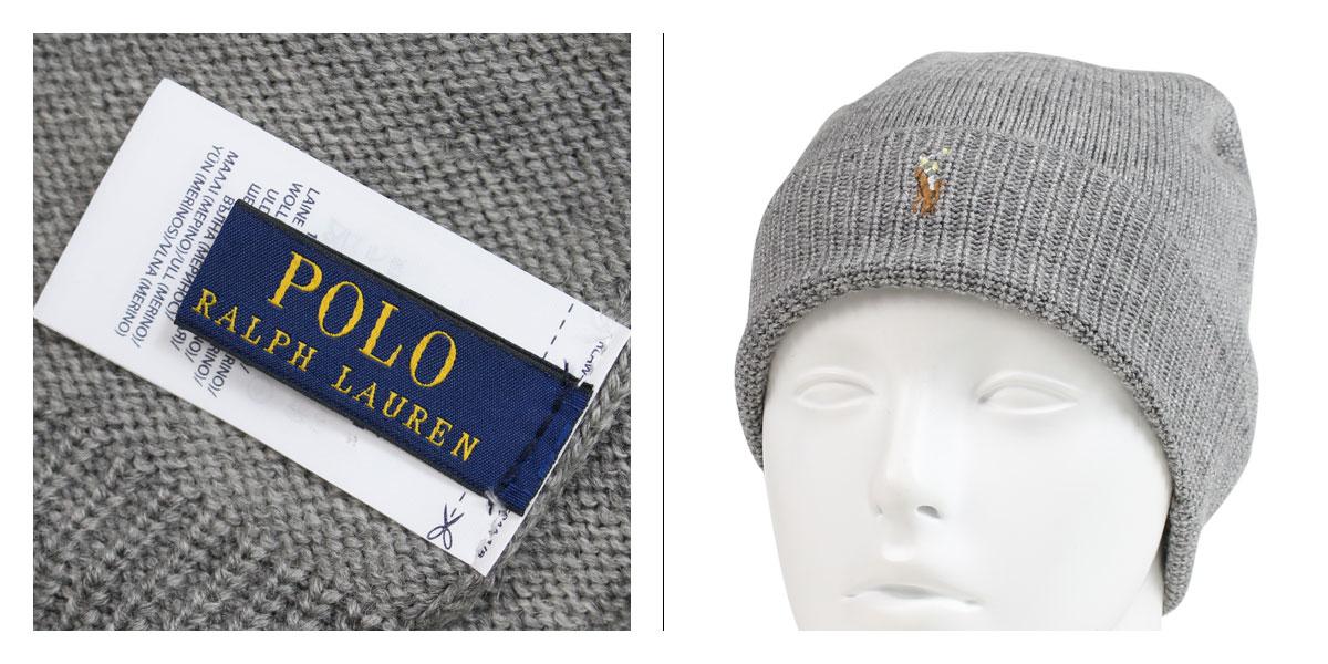 f53d558cb4e POLO RALPH LAUREN MERINO WOOL WATCH CAP polo Ralph Lauren knit hat knit cap  beanie men gap Dis merino wool gray navy 6F0101  1 15 Shinnyu load