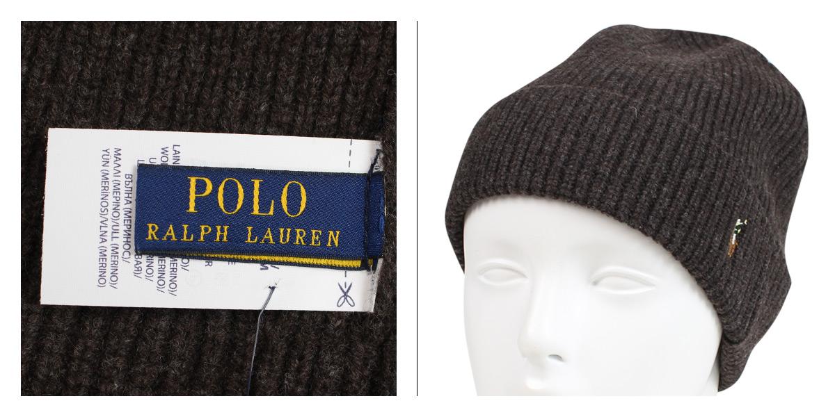 POLO RALPH LAUREN SIGNATURE MERINO CUFF HAT polo Ralph Lauren knit hat knit  cap beanie men gap Dis merino wool 6F0101  1 10 Shinnyu load  589ca99e4ee