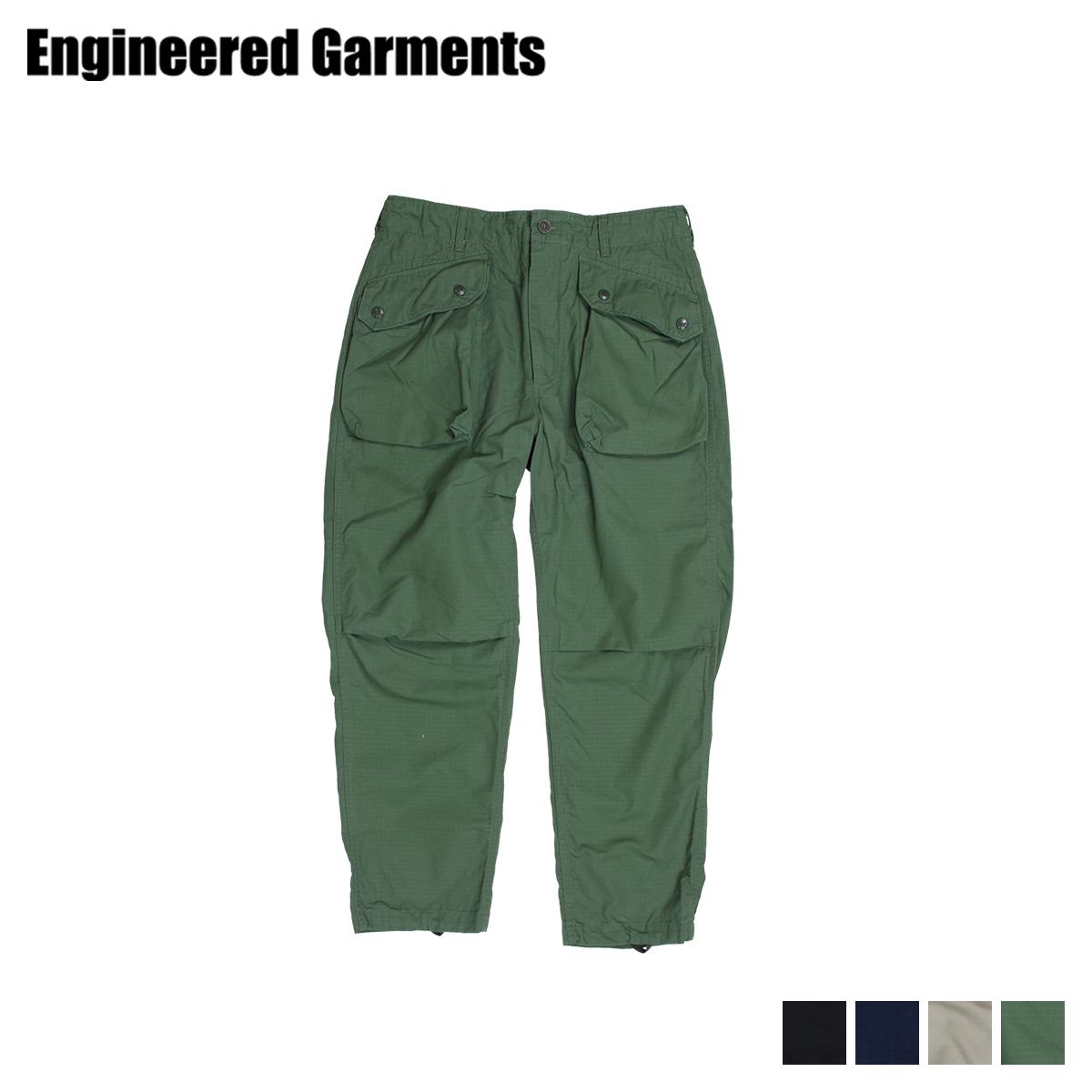 ENGINEERED GARMENTS NORWEGIAN PANT エンジニアドガーメンツ パンツ カーゴパンツ メンズ ブラック カーキ オリーブ 19SF007 [3/28 新入荷]