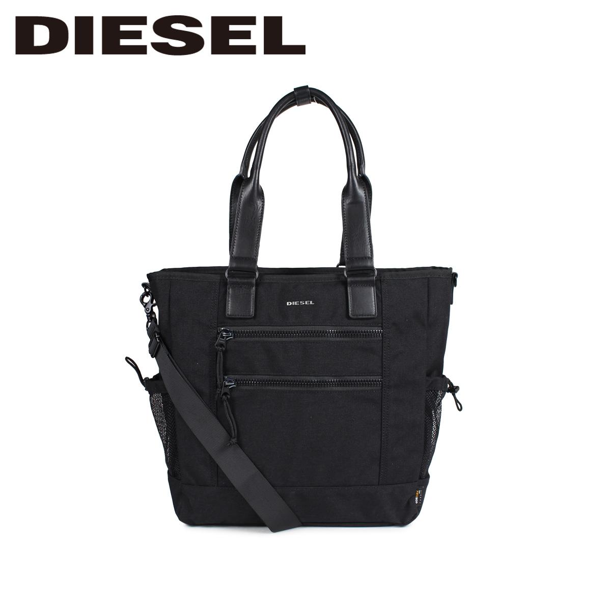DIESEL F-URBHANITY TOTE ディーゼル バッグ トートバッグ メンズ 2WAY ブラック 黒 X05475 P1516 [3/12 新入荷]