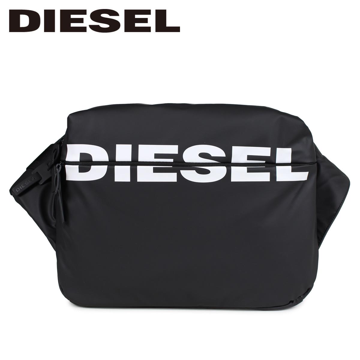 DIESEL F-BOLD CROSS ディーゼル バッグ ボディバッグ メンズ ブラック 黒 X05476 P1705 [4/15 再入荷]