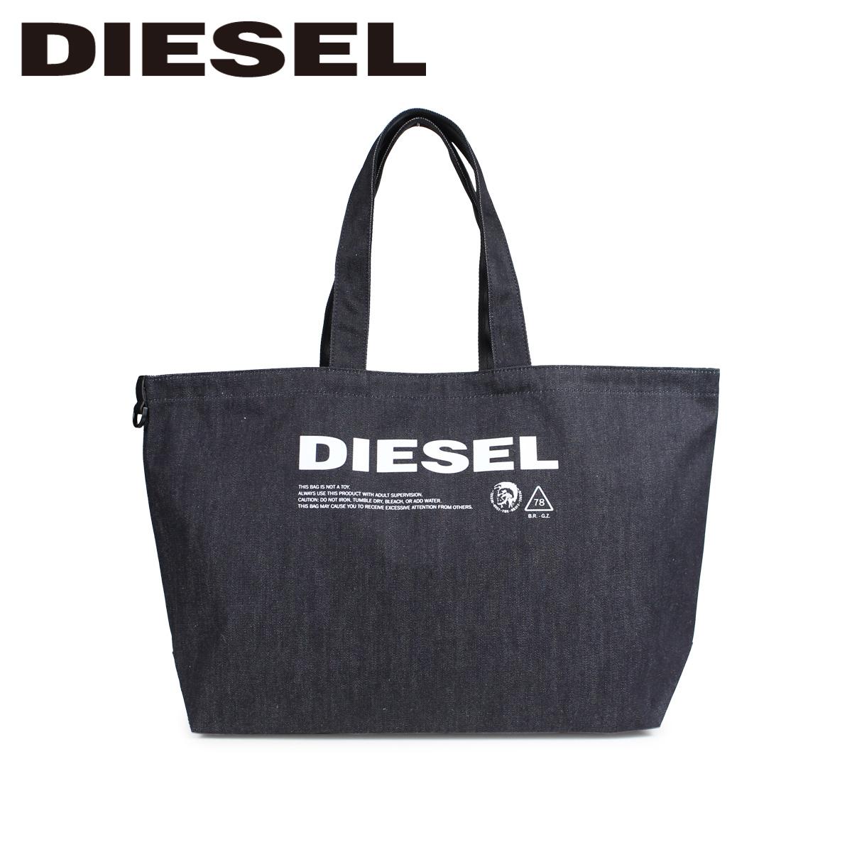 DIESEL D-THISBAG SHOPPER L ディーゼル バッグ トートバッグ メンズ レディース ダークネイビー X05513 PR413 [3/12 新入荷]
