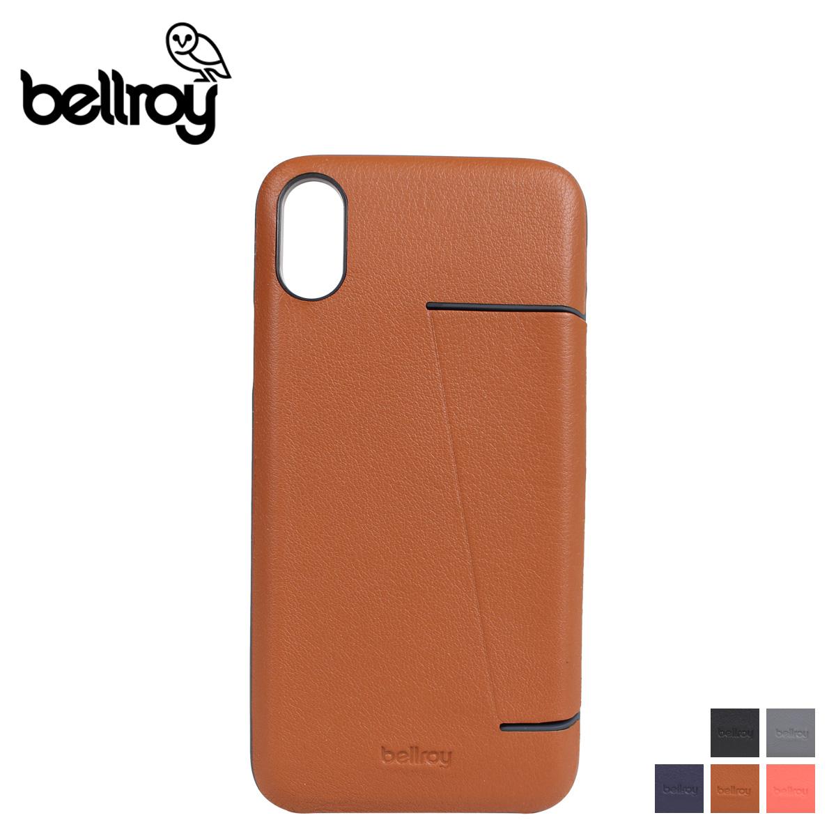 pretty nice 7aa2a 0fac4 Bellroy PHONE CASE 3 CARD bell Roy iPhoneX XS case smartphone eyephone men  gap Dis leather PTXA [5/1 Shinnyu load]