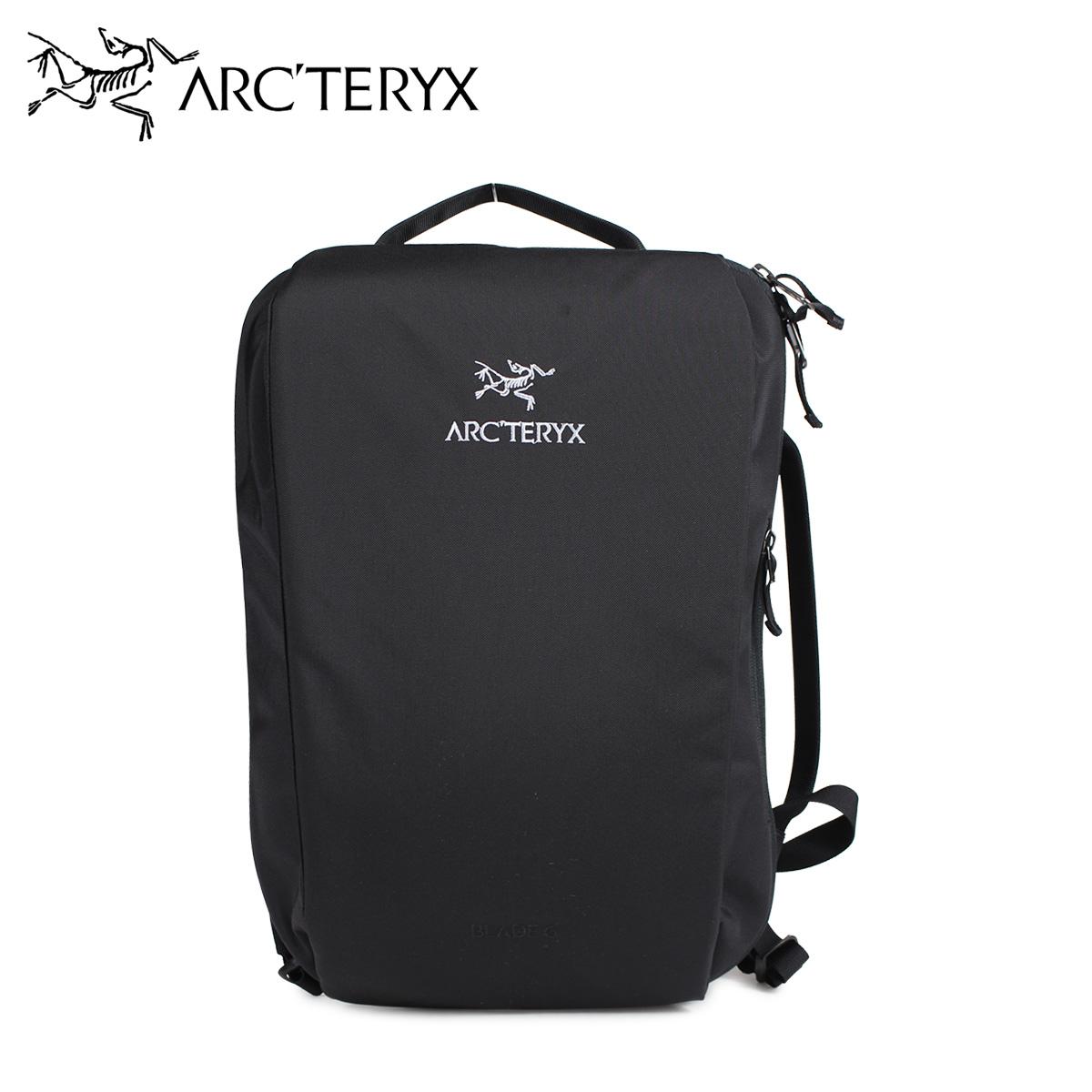 ARCTERYX BLADE 6 BACKPACK アークテリクス リュック バックパック バッグ ブレード 6 メンズ レディース 6L ブラック 黒 16180