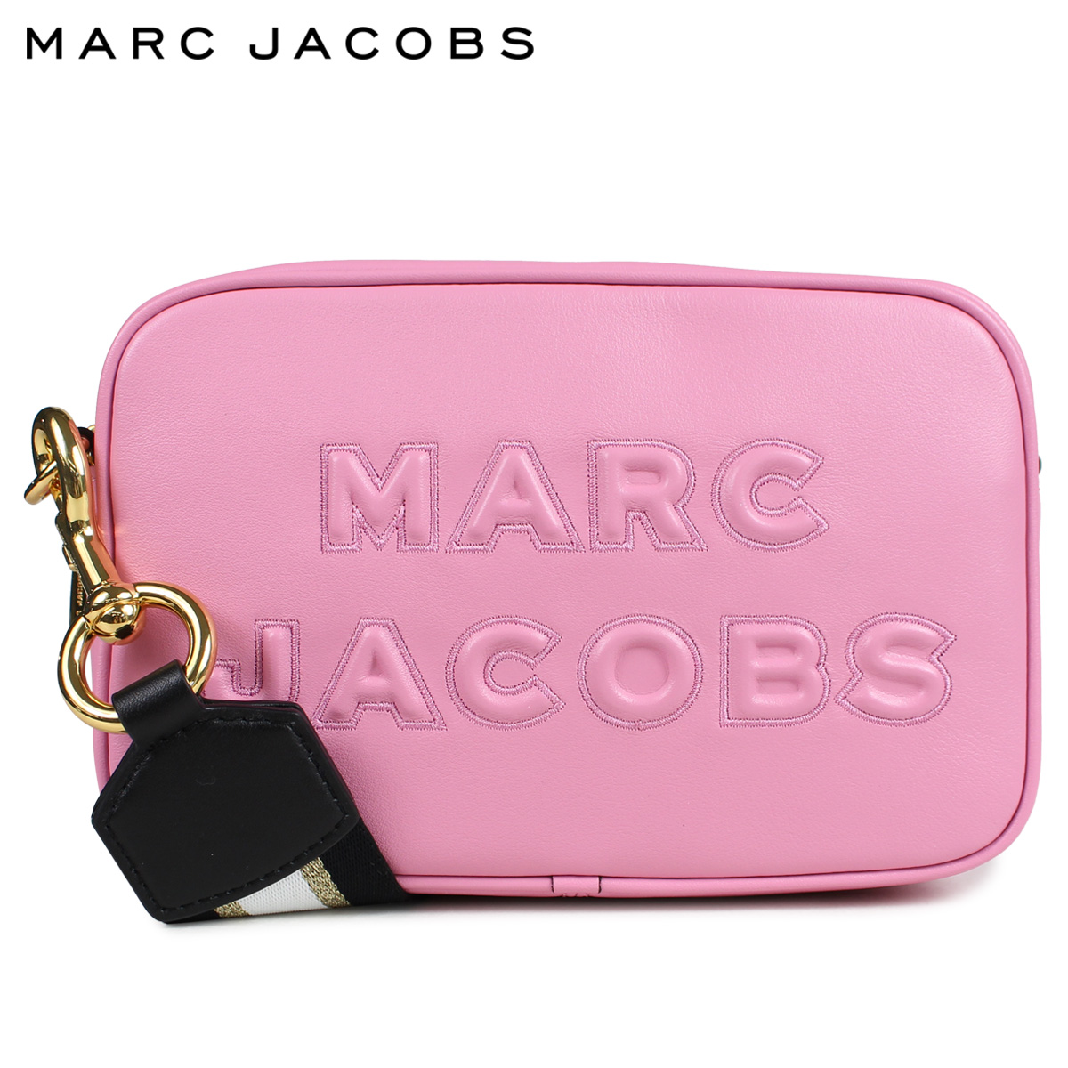 MARC JACOBS FLASH LEATHER CROSS BODY マークジェイコブス バッグ ショルダーバッグ レディース ピンク M0014465 660