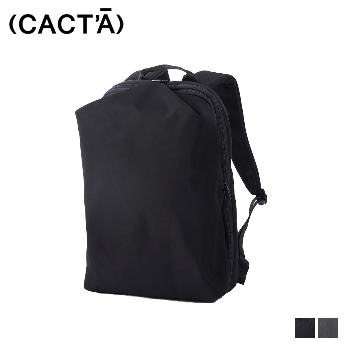CACTA COLON TRAVELERS BACKPACK 1 カクタ リュック バッグ バックパック メンズ レディース ブラック グレー 黒 1001