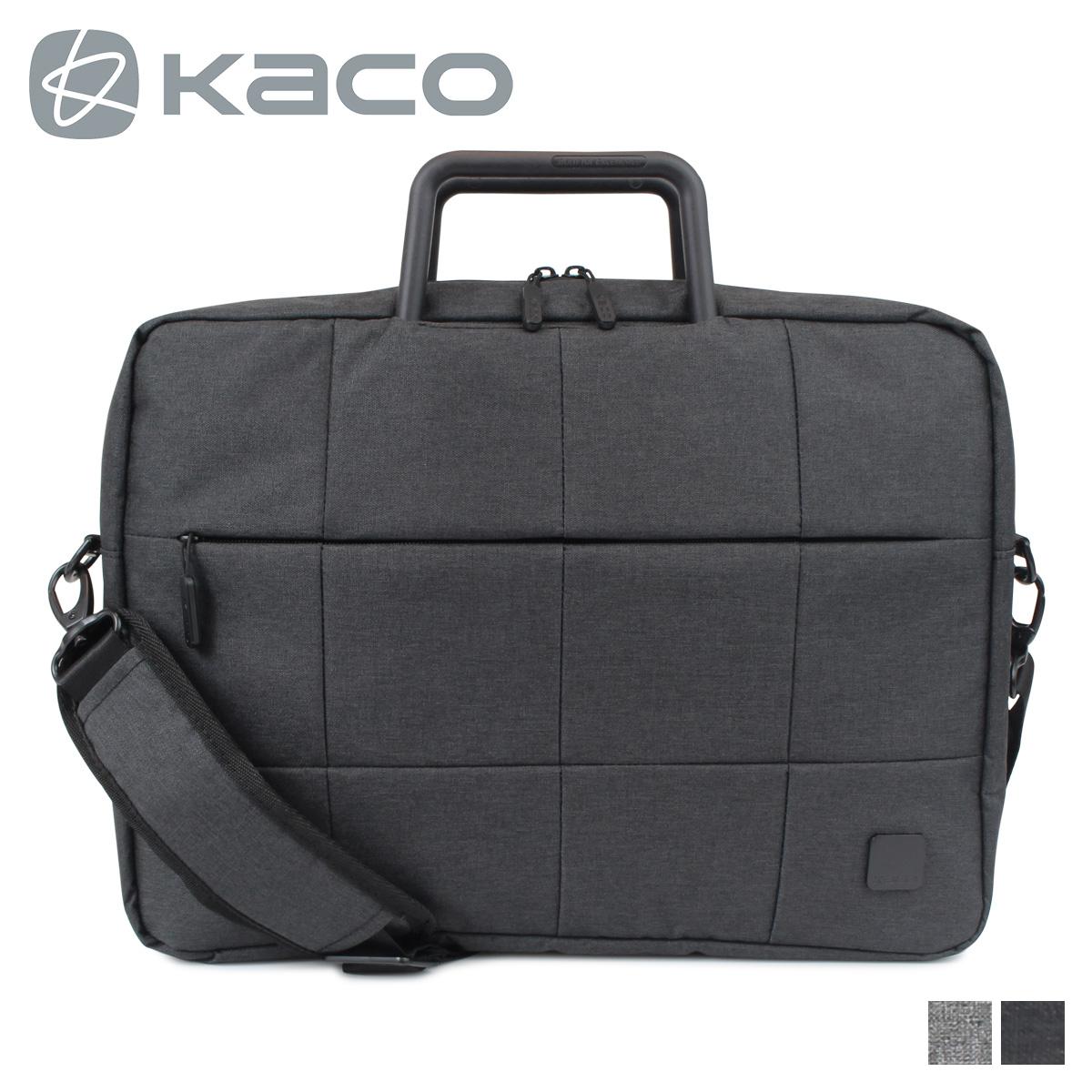 KACO ALIO BUSINESS BAG カコ バッグ ビジネスバッグ ブリーフケース ショルダー メンズ ブラック グレー 黒 K1211
