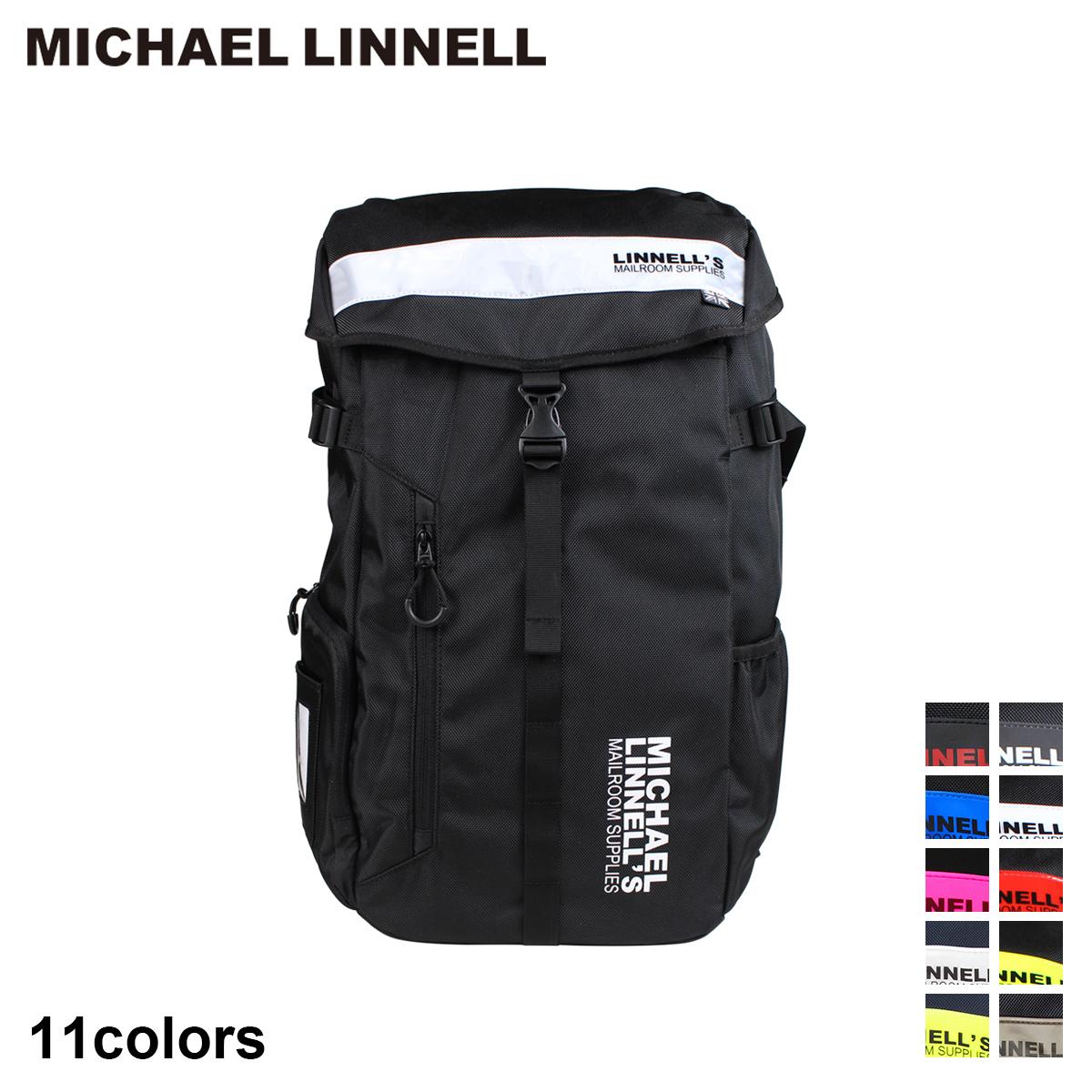 MICHAEL LINNELL BIG BACKPACK マイケルリンネル リュック バッグ 30L メンズ レディース バックパック ブラック ネイビー 黒 ML-008 [7/31 追加入荷]