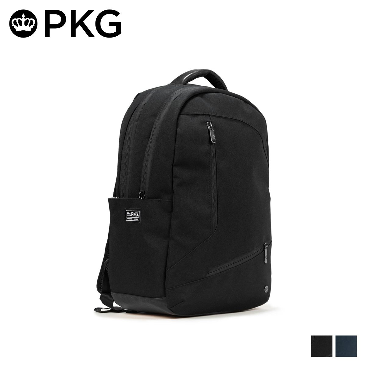 PKG DURHAM ピーケージー バッグ リュック バックパック メンズ レディース 25L ブラック ネイビー 黒 V2