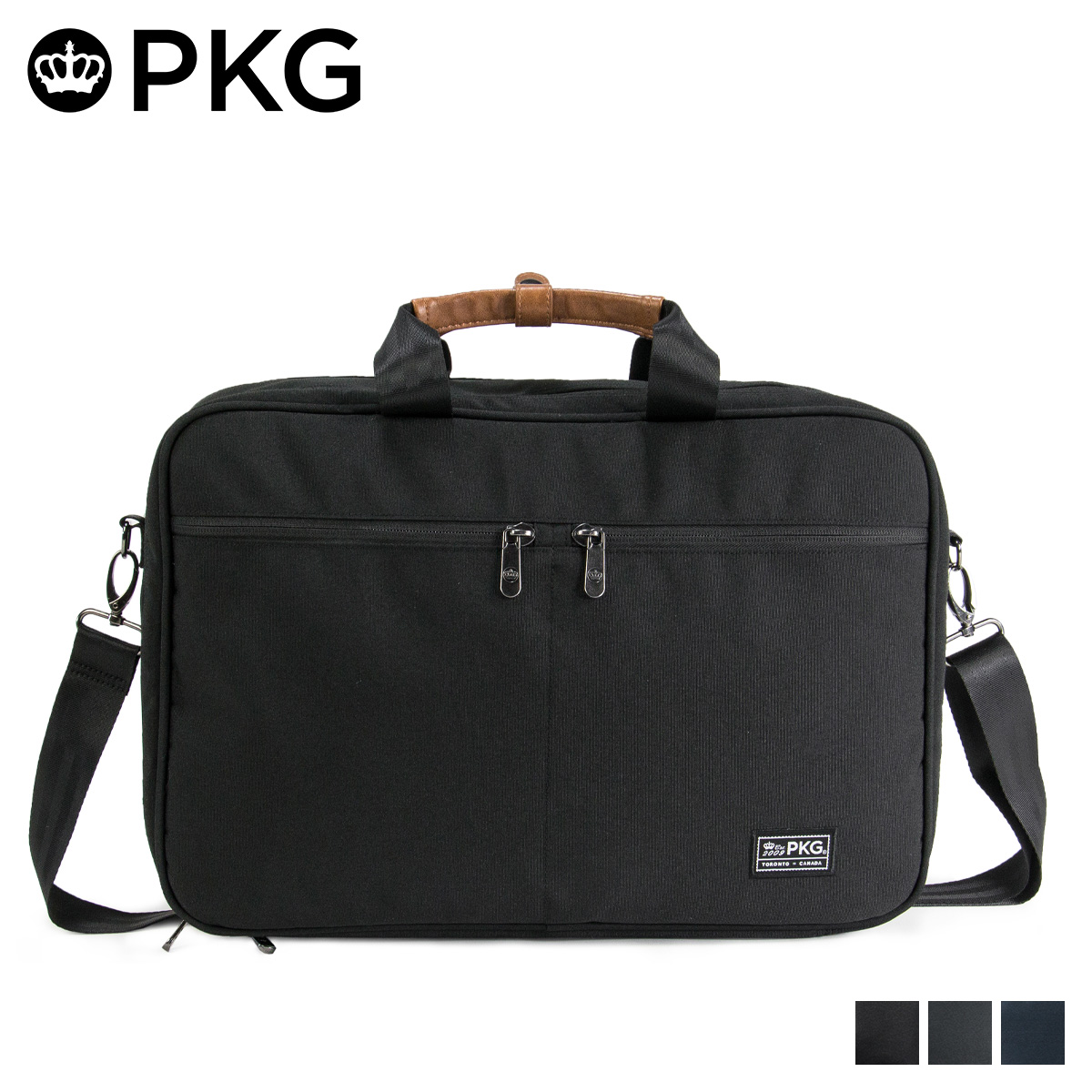 PKG PEARSON ピーケージー バッグ リュック ショルダーバッグ メンズ レディース 3WAY 20L ブラック チャコールグレー ネイビー 黒 19PE