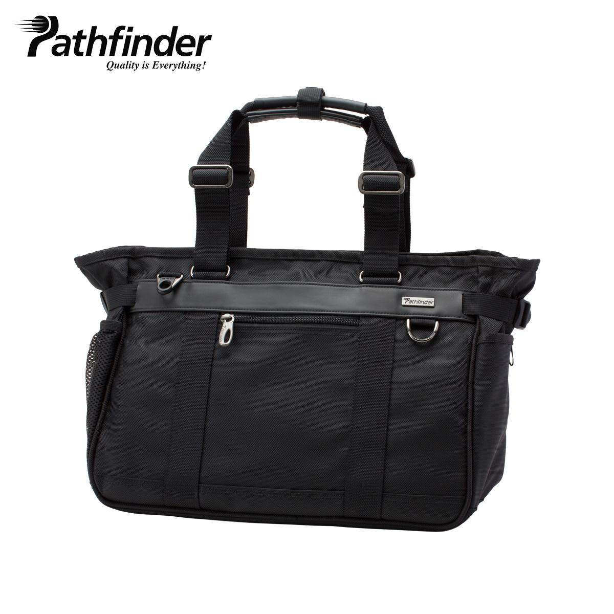 Pathfinder AVENGER パスファインダー トート バッグ ビジネスバッグ ショルダー メンズ ブラック 黒 PF1804B
