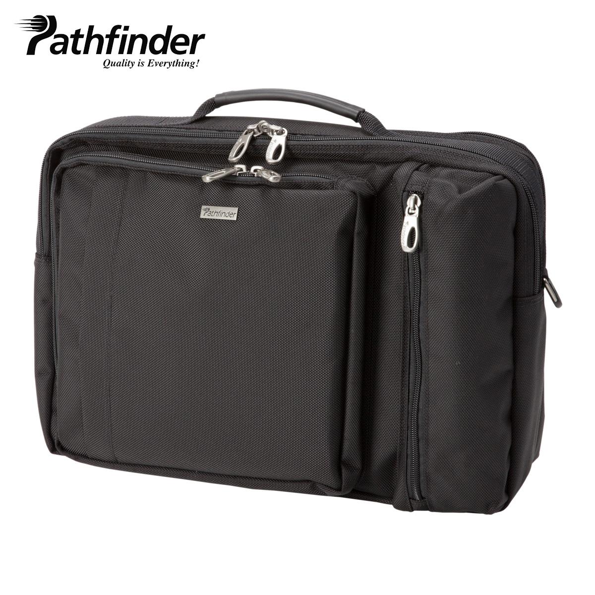 Pathfinder 3WAY AVENGER パスファインダー バッグ ビジネスバッグ リュック ブリーフケース ショルダー メンズ ブラック 黒 PF1805B