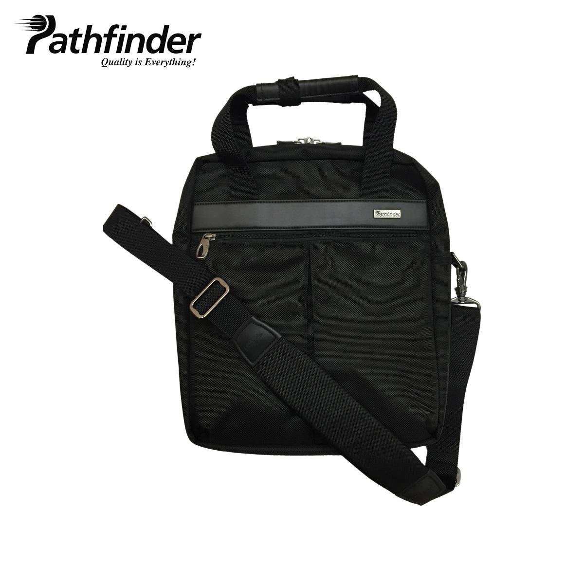 Pathfinder AVENGER パスファインダー トート バッグ ビジネスバッグ ショルダー メンズ ブラック 黒 PF1814B