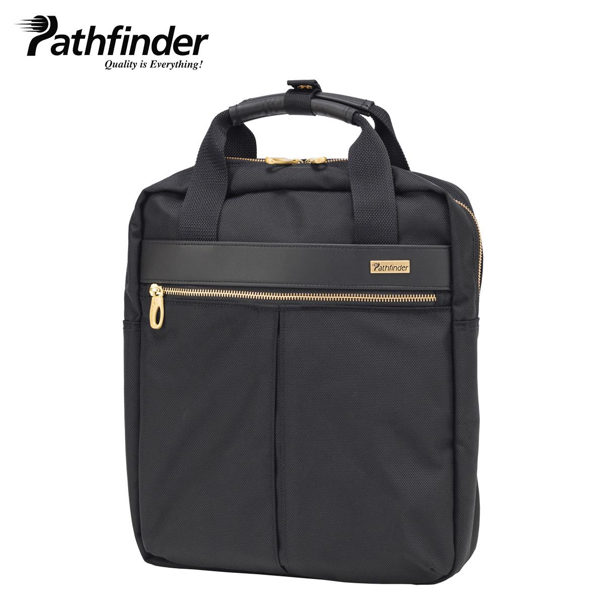 Pathfinder 2WAY AVENGER パスファインダー バッグ ビジネスバッグ リュック バックパック メンズ ブラック 黒 PF1815LB