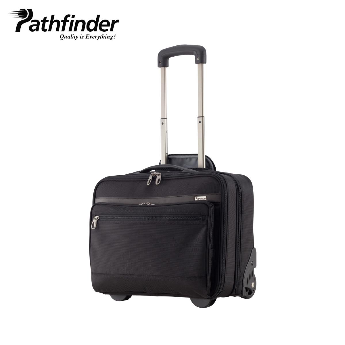 Pathfinder AVENGER パスファインダー バッグ キャリーケース キャリーバッグ スーツケース 20L メンズ 機内持ち込み ソフト ブラック 黒 PF1827B