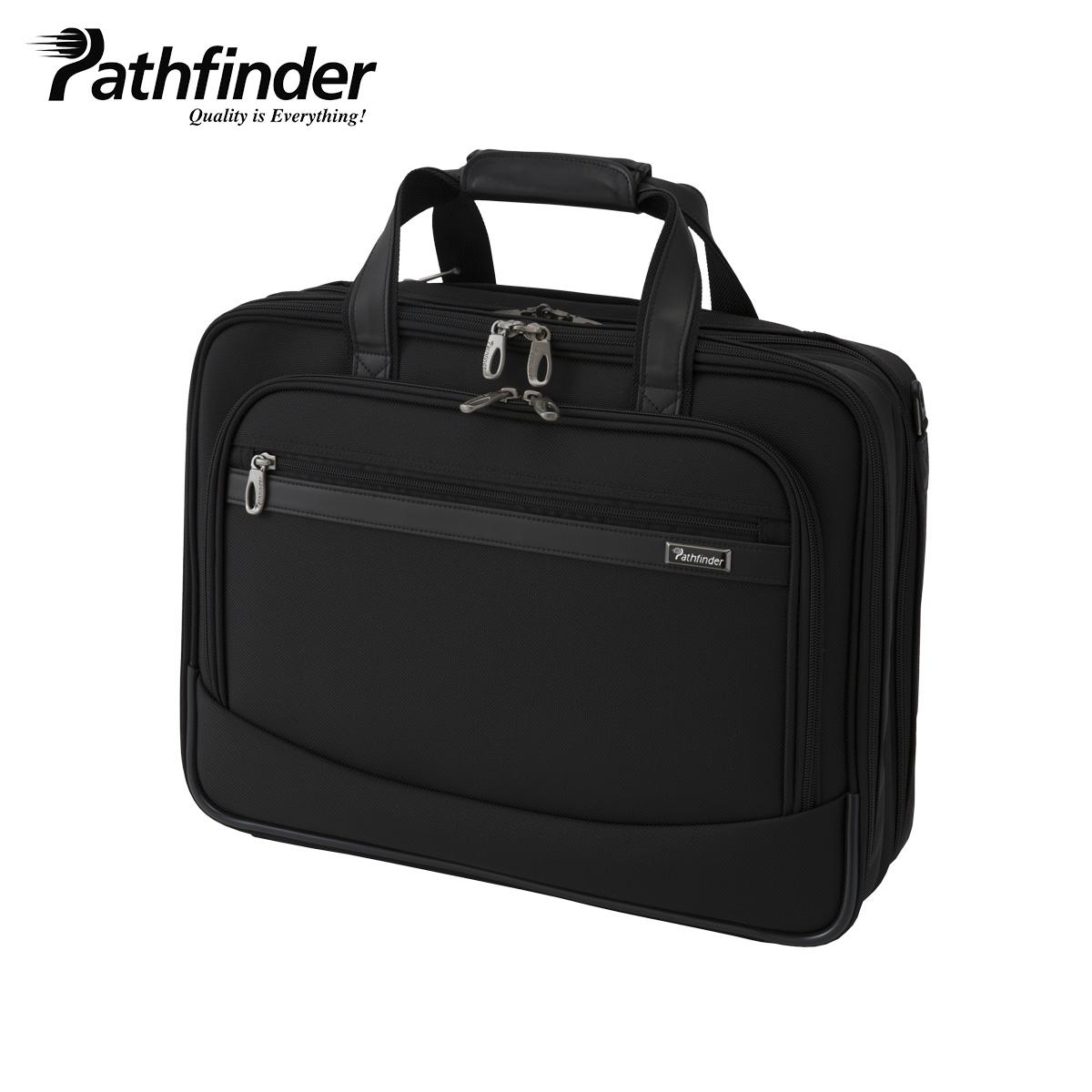 Pathfinder REVOLUTION XT パスファインダー バッグ ビジネスバッグ ブリーフケース ショルダー メンズ ブラック 黒 PF6804B