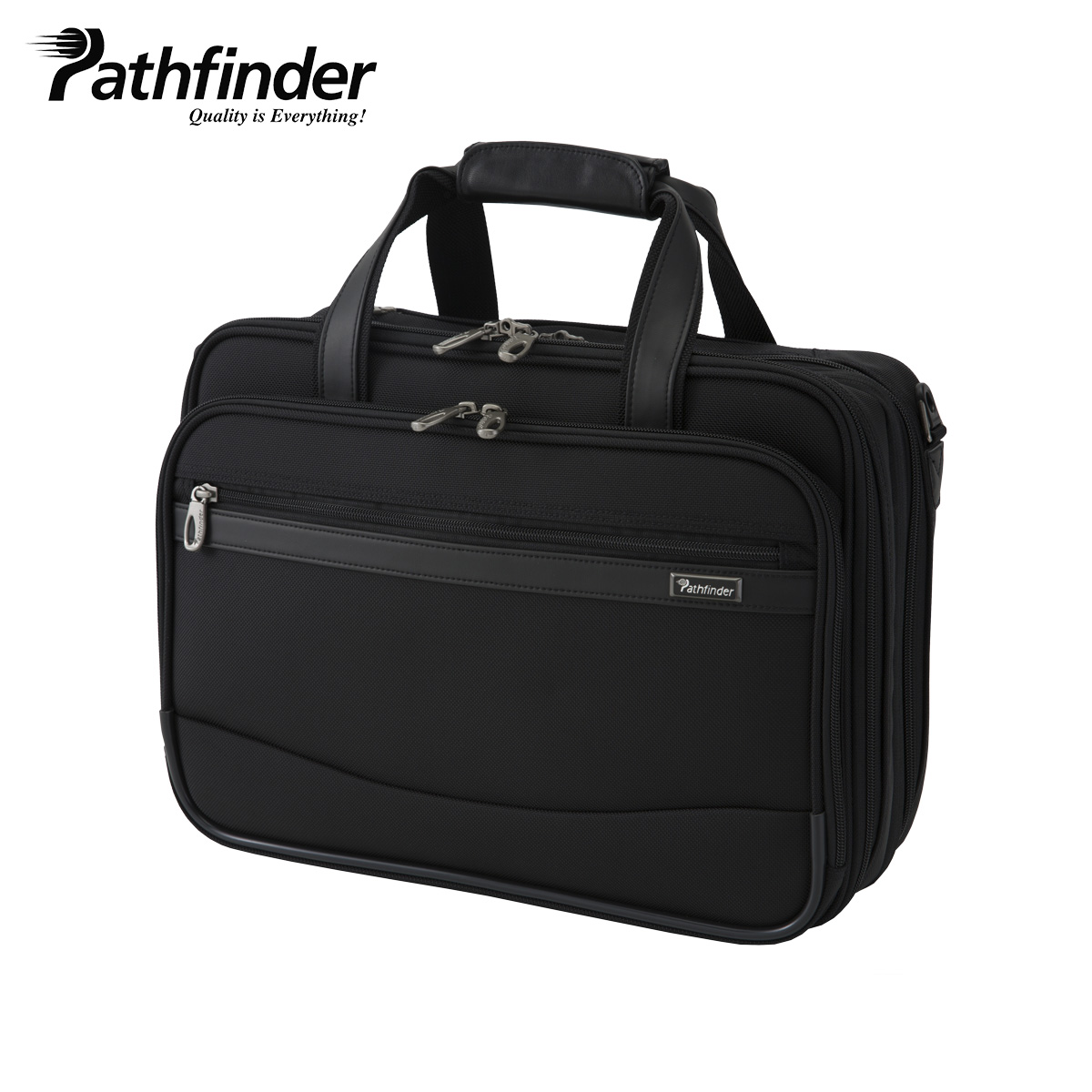 Pathfinder REVOLUTION XT パスファインダー バッグ ビジネスバッグ ブリーフケース ショルダー メンズ ブラック 黒 PF6805B