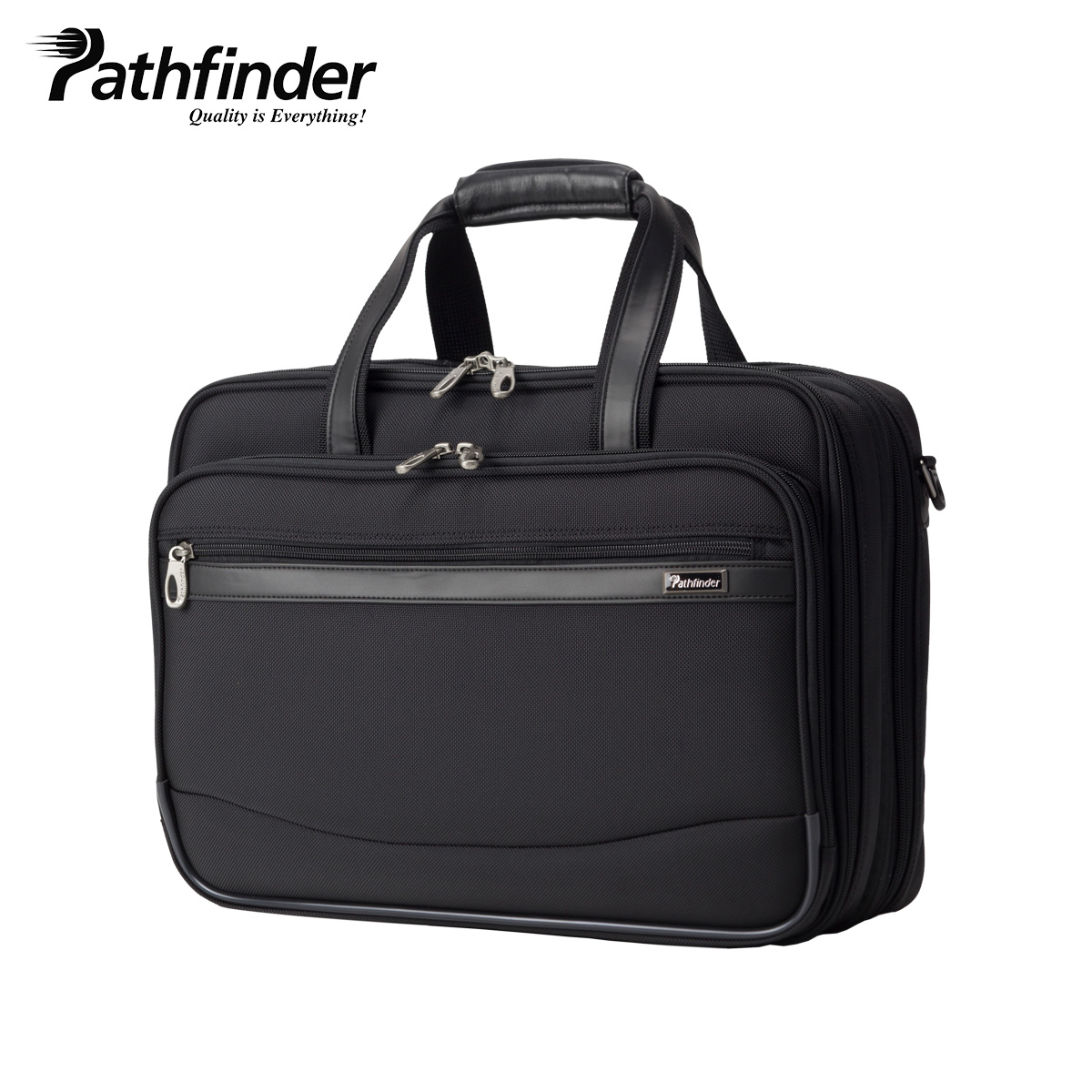 Pathfinder REVOLUTION XT パスファインダー バッグ ビジネスバッグ ブリーフケース ショルダー メンズ ブラック 黒 PF6807B